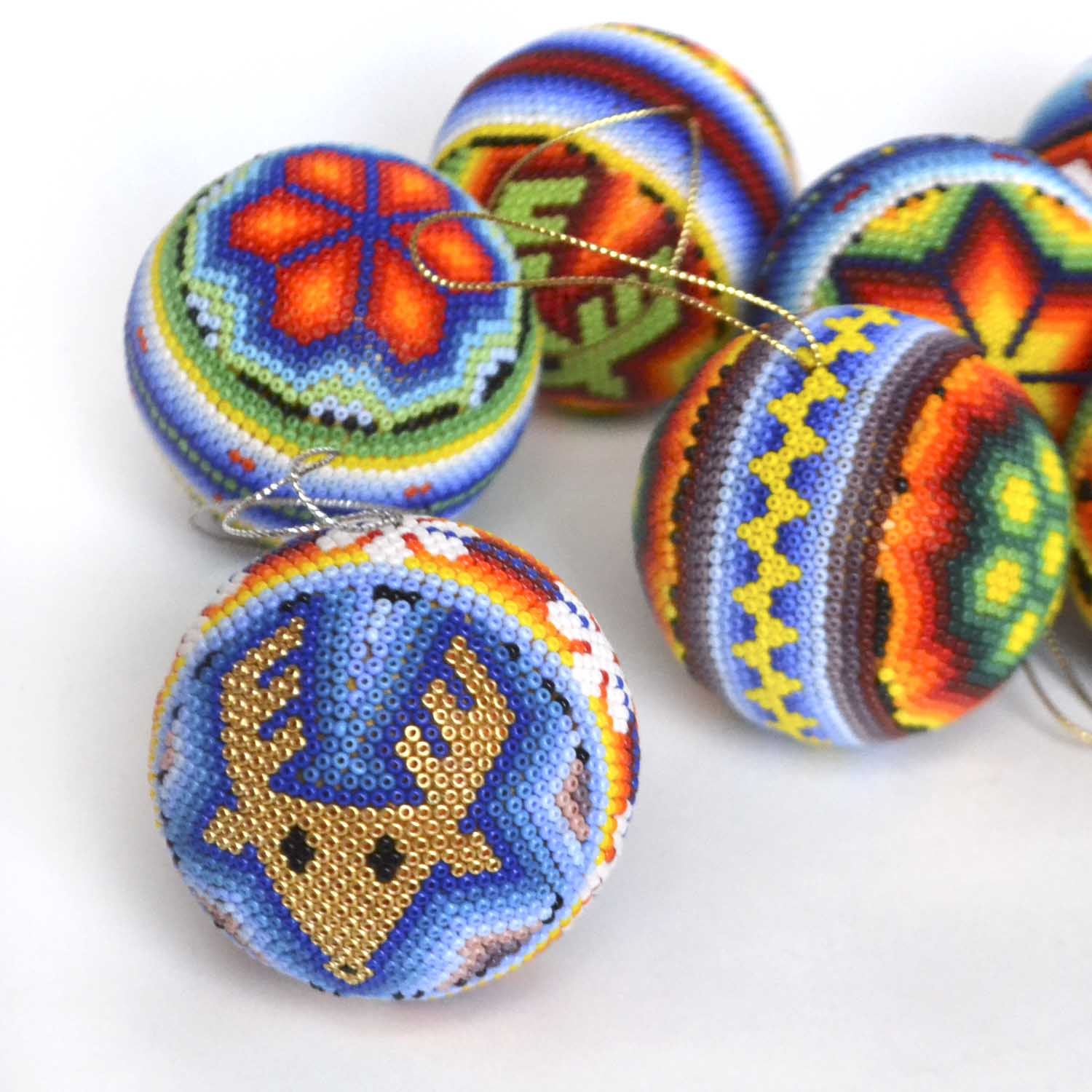 Spheres with beads